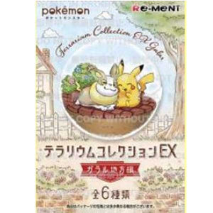 【已截訂】Rement POKEMON Terrarium EX Galar Region (Box of 6)