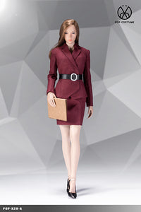 【己截訂】POPTOYS 1︰6 POP COSTUME Office Lady - Female suit X29 Skirt Ver A [不包素體頭雕]
