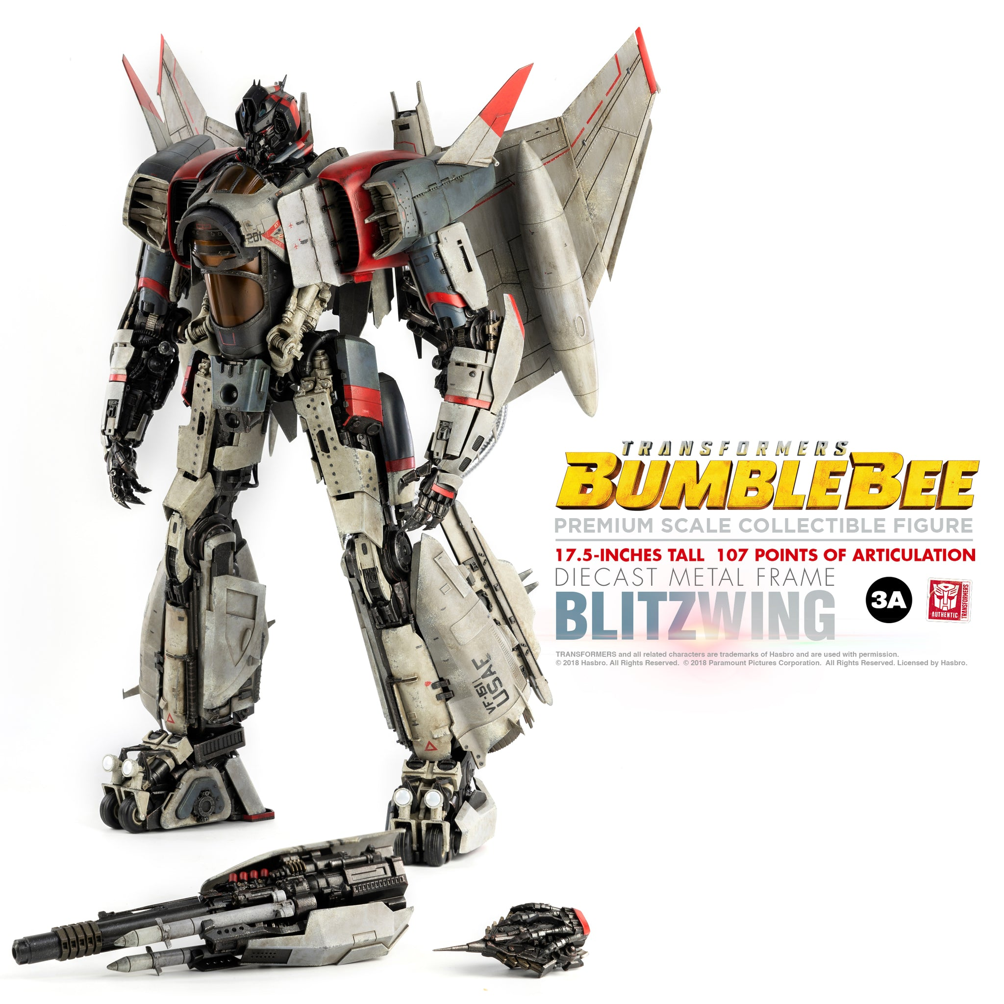 【已截訂】ThreeZero PREMIUM SCALE-BLITZWING Transformers BUMBLEBEE Premium Scale Action Figure
