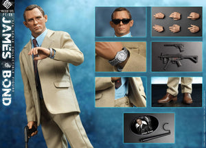 【預訂日期至04-Oct-20】PRESENT TOYS  PT-SP08 1/6  AGENT 007 Figure