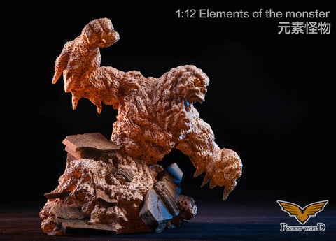 【已截訂】Pocket World PW2011B Sand color 1/12  Elements  of  the  monster Figure