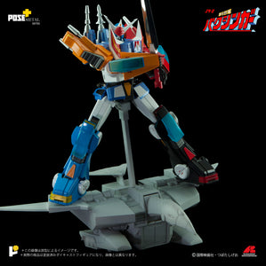 【預訂日期至14-Dec-20】POSE+ P+02DX Galactic Gale Baxinar X Baxinbird DX Set Action Figure