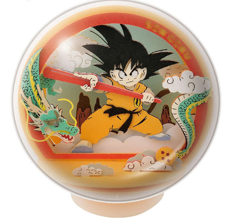 【現貨】Ensky Paper Theater Ball Dragon Ball PTB-04 Son Goku