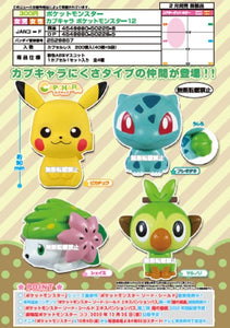 【已截訂】Bandai Pokemon Capchara Pokemon Star 12 Capsule (Set of 4)