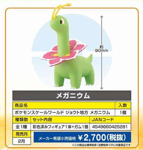【已截訂】Bandai Pokemon Scale World Johto Area Meganium