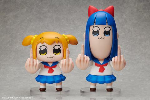 【已截訂】Hobbymax Pop Team Epic Sofubi Popuko & Pipimi Set Figure