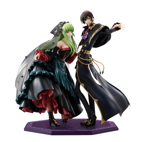 【已截訂】Mega House Precious G.E.M. CODE GEASS Lelouch of the Re; surrection L.L.&C.C.SET PVC Figure