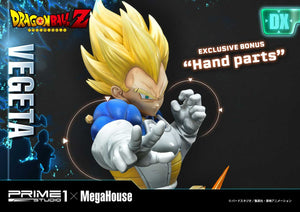 【預訂日期至21-Aug-20】Prime 1 Studio  25''  MPMDBZ-02DXS    Super Saiyan Vegeta from Dragon Ball Z (EXCLUSIVE BONUS Hand parts) statue
