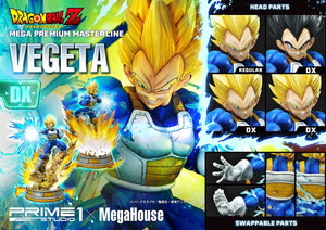 【預訂日期至21-Aug-20】Prime 1 Studio  25''  MPMDBZ-02DX    Super Saiyan Vegeta from Dragon Ball Z statue