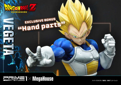 【預訂日期至21-Aug-20】Prime 1 Studio  25''  MPMDBZ-02S    Super Saiyan Vegeta from Dragon Ball Z (EXCLUSIVE BONUS Hand parts)