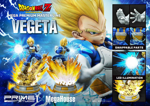【預訂日期至21-Aug-20】Prime 1 Studio  25''  MPMDBZ-02    Super Saiyan Vegeta from Dragon Ball Z Statue