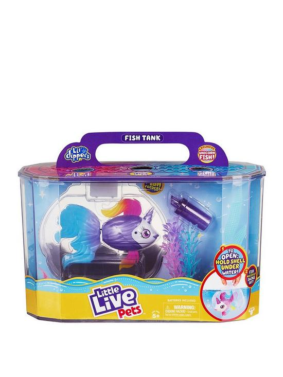 Little Live Pets LIL'DIPPERS UNICORNSEA & FISH TANK | 兒童玩具 | Moose Toys【現貨】