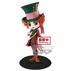 【預訂日期至19-Sep-20】Banpresto Q POSKET DISNEY CHARACTERS -MAD HATTER-ALICE IN WONDERLAND(VER.A) PVC Figure