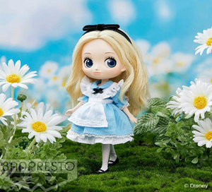 【已截訂】Banpresto Q POSKET DOLL ~DISNEY CHARACTER ALICE~ Action Doll