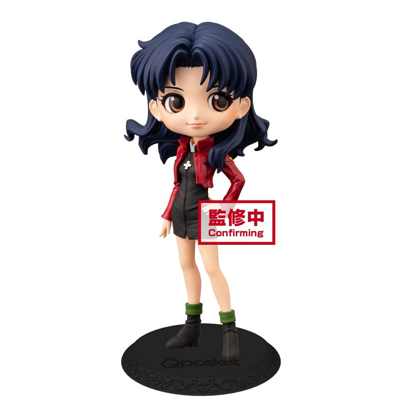【已截訂】Banpresto Q Posket EVA Misato Katsuragi Normal color PVC Figure