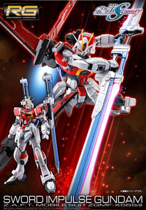 【預訂日期至08-Aug-20】Bandai RG 1/144 Sword Impulse Gundam