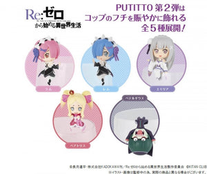 【預訂日期至23-Nov-19】KADOKAWA Re Zero -Starting Life in Another World- vol.2 [再販] [原盒8入]