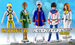 【己截訂】Toynami Robotech Poseable Action Figures - Series 2 Action Figure [全5種]