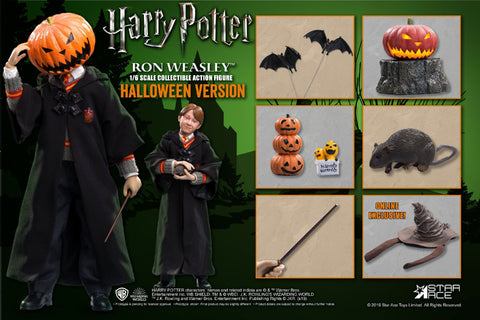 【已截訂】Star Ace Ron Weasley 1-6 (Child) Halloween Ver. 1/6 Action Figure