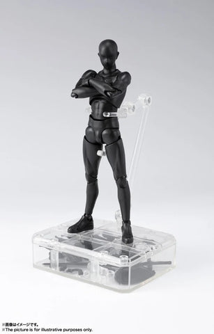 BODY-KUN DX SET 2 (Solid black Color Ver.) | S.H.Figuarts Action Figure | Bandai【現貨】