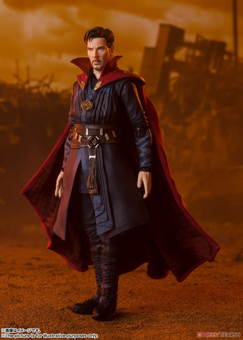 【預訂-數量有限,額滿即止】Bandai S.H.Figuarts Doctor Strange -《BATTLE ON TITAN》 EDITION (Avengers Infinity War) Action Figure(每人限一)