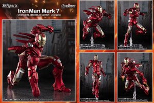 【已截訂】Bandai S.H.Figuarts Iron Man Mark 7 (I AM IRON MAN) EDITION Action Figure(行版)(每人限1)