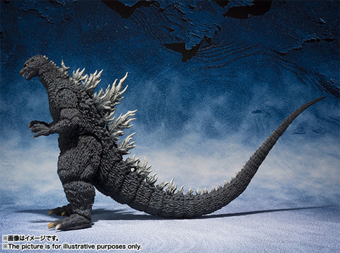 【已截訂】Bandai S.H.MonsterArts Godzilla(2002) Action Figure