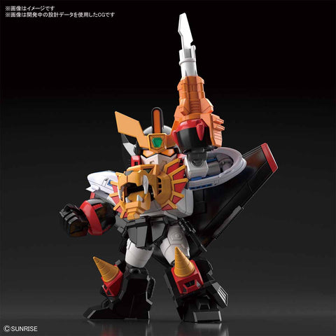 【已截訂】Bandai SD Cross Silhouette Gaogaigar Plastic Model Kit