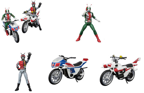 【已截訂】Bandai SHADO-X Kamen Rider Vol.7 Set [1套全6種]