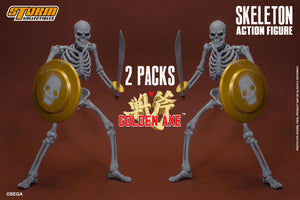 【已截訂】Storm Collectibles SKELETON - 2 PACKS - Golden Ax Action figure