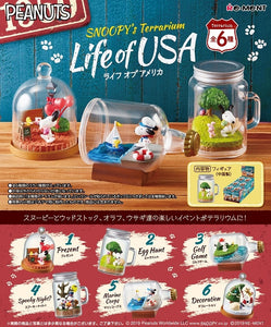 【已截訂】RE-MENT 〜SNOOPY's Terrarium〜 LIFE of USA [全6種]