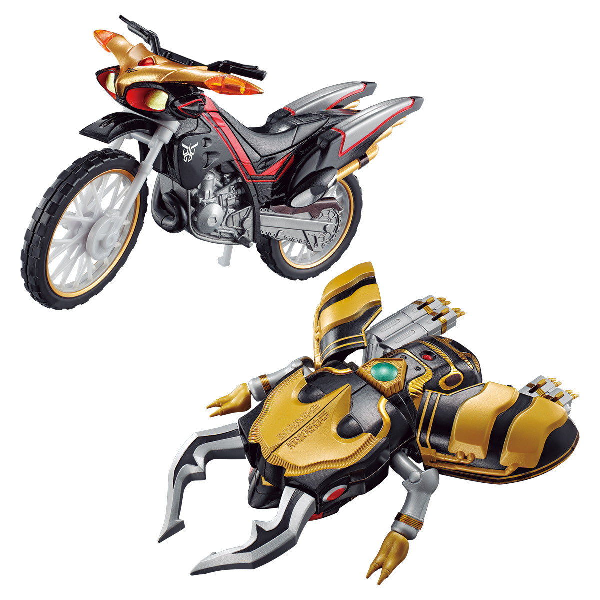 【預訂日期至06-Mar-21】Bandai SO-DO CHRONICLE KAMEN RIDER KUUGA BEATCHASER 2000 & GOURAM SET