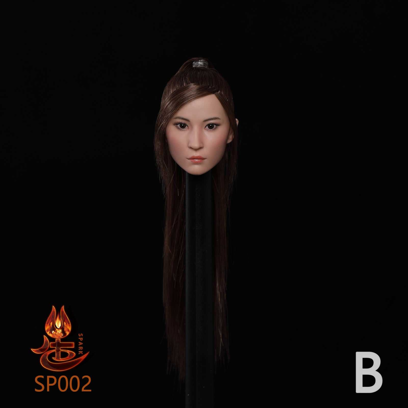 【預訂日期至20-Aug-20】SPARK TOYS SP002 1/6  Asian Beauty Head Carving B