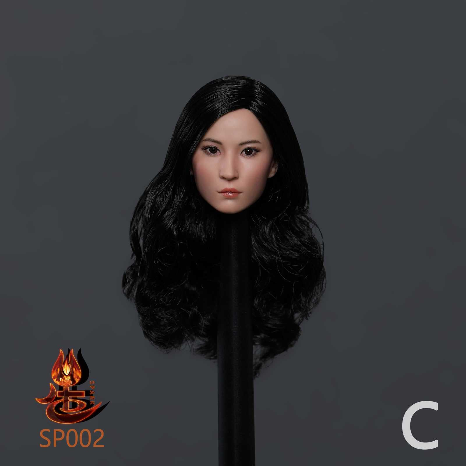 【已截訂】SPARK TOYS SP002 1/6  Asian Beauty Head Carving C