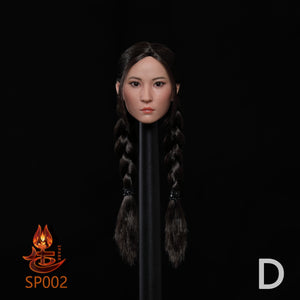 【預訂日期至20-Aug-20】SPARK TOYS SP002 1/6  Asian Beauty Head Carving D