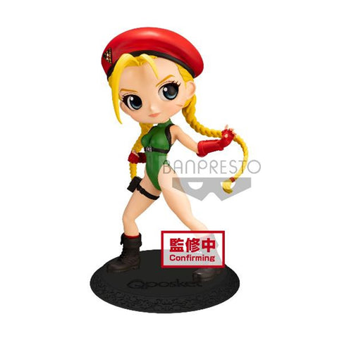 【已截訂】Banpresto STREET FIGHTER SERIES Q POSKET-CAMMY-(VER.A) PVC Figure