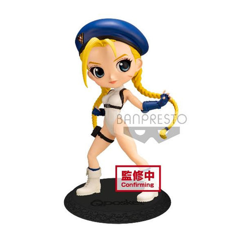 【已截訂】Banpresto STREET FIGHTER SERIES Q POSKET-CAMMY-(VER.B) PVC Figure