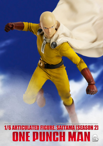 【預訂日期至28-Oct-19】ThreeZero One Punch Man Saitama (Normal Version) 1/6 Acton Figure