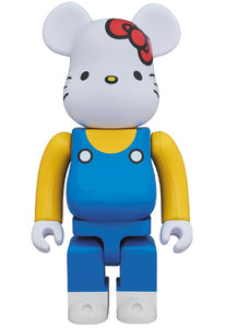 【已截訂】MEDICOM TOY Sanrio BE@RBRICK 400% Hello Kitty (Blue Overall Version)