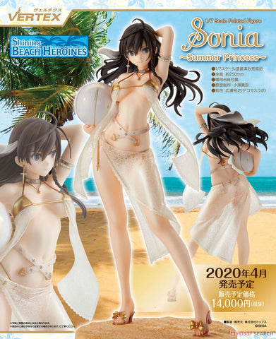 【預訂日期至04-Dec-19】Vertex Shining Beach Heroines Sonia -Summer Princess 1/7 PVC Figure