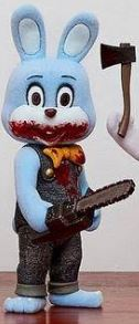 【預訂日期至07-Sep-20】Gecco Silent Hill 3, Robbie the Rabbit Mini (Blue) PVC Figure
