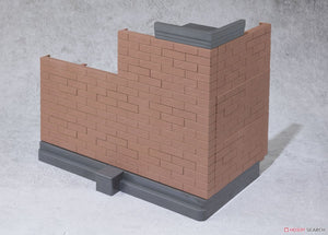 【已截訂】Bandai Soul Option Brick Wall (Brown Ver.)