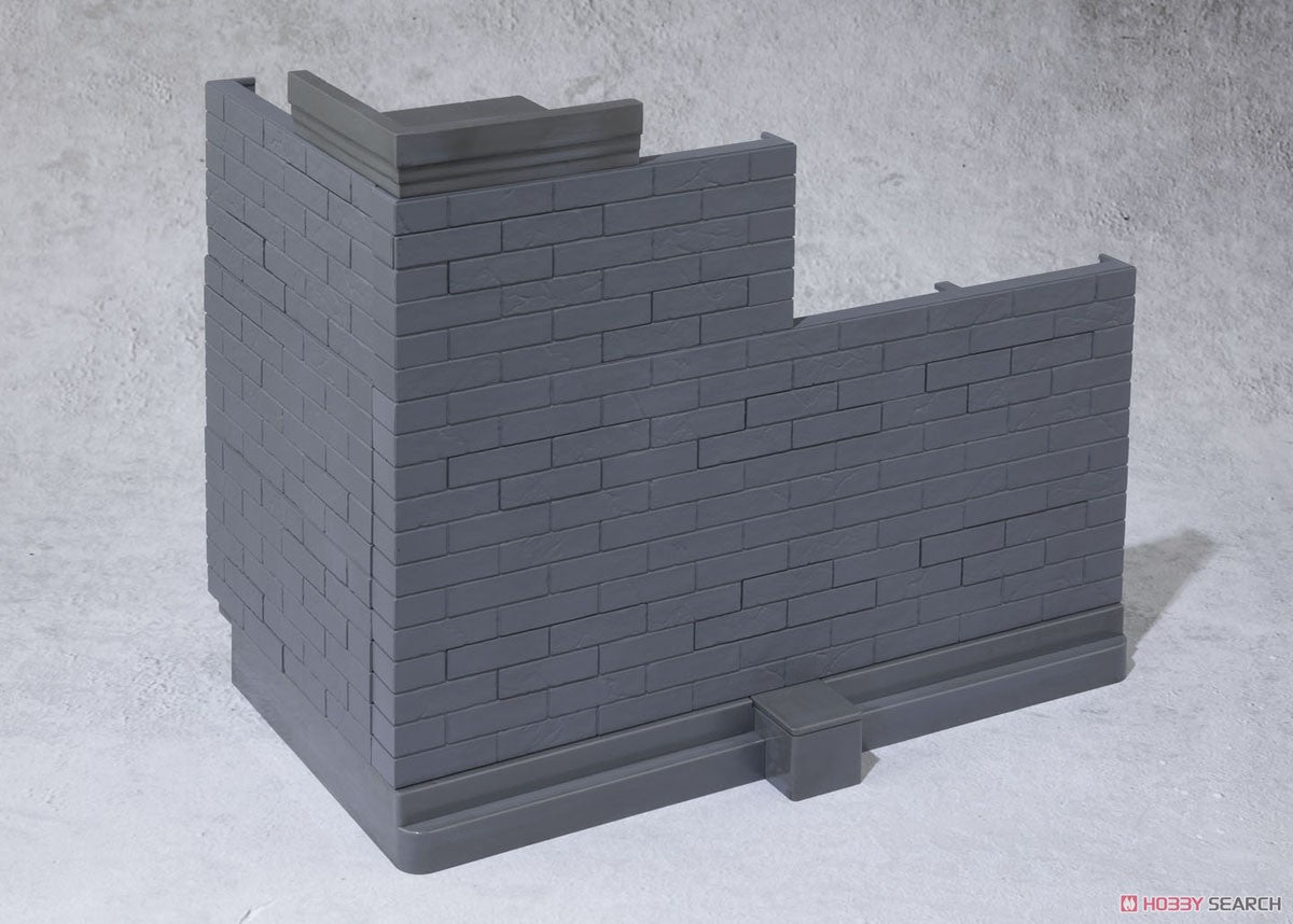 【已截訂】Bandai Soul Option Brick Wall (Gray Ver.)