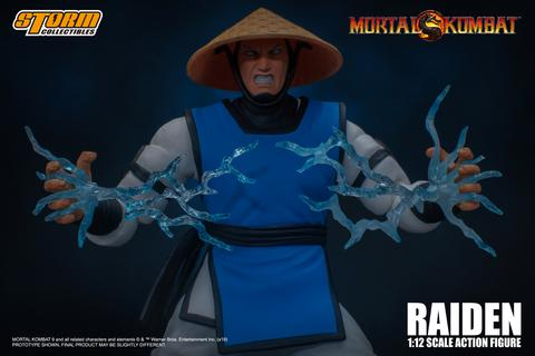 Storm Collectibles Mortal Kombat RAIDEN 1/12 Action Figure【現貨】
