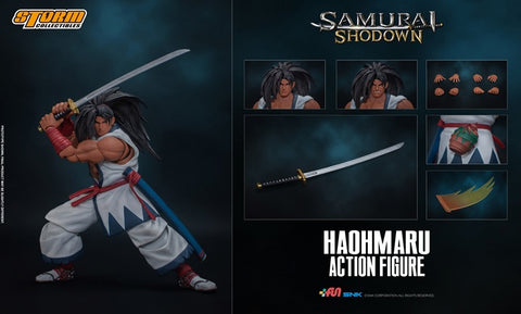 【已截訂】Storm Collectibles Samurai Shodown HAOHMARU Action Figure