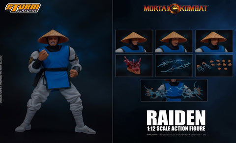 【已截訂】Storm Collectibles RAIDEN Mortal Kombat 1/12 Action Figure [全訂包本地順豐運費]