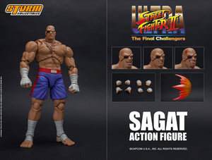 Street Fighter II SAGAT(The Final Challengers) ACTION FIGURE | 街頭霸王 沙加特 | Storm Collectibles【現貨】