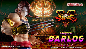 【已截訂】Bandai Street Fighter S.H.Figuarts Barlog Action Figure [JP Ver] [By Air]