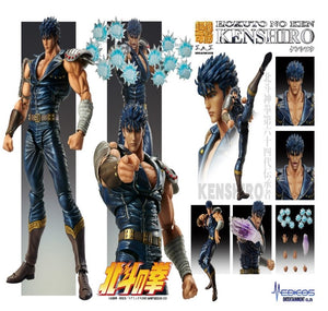 【預訂-數量有限,額滿即止】Medicos Super Action Statue ''Fist of thr North Star'' Kenshiro Action Figure