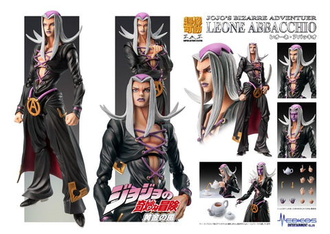 【已截訂】Medicos Super Figure Action JoJo`s Bizarre Adventure Part 5 [Leone Abbacchio] Action Figure [再販]
